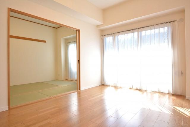 LD+和室をつなげて広々とした空間に♪