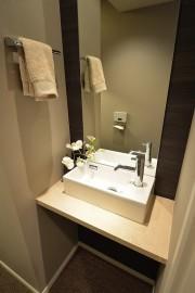 代官山マンション トイレ内に手洗い場あり!