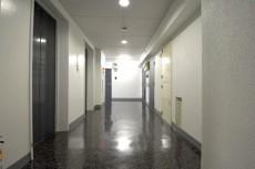 南平台マンション 共用廊下