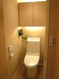 代官山マンション ウォシュレット付トイレです。602