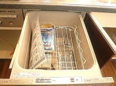 代官山マンション 食器洗浄器付きキッチン♪602