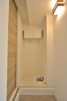 秀和第一南平台レジデンス 洗濯機スペース