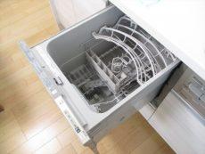 朝日千駄木マンション キッチン食洗器