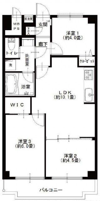 飯田橋第一パークファミリア 図面
