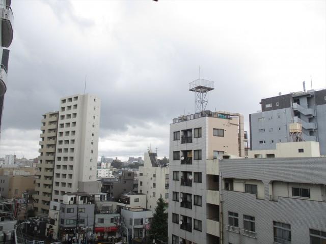朝日千駄木マンション バルコニー眺望2