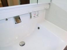 月島福寿マンション 洗面化粧台