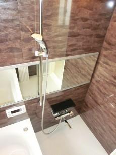 牛込中央マンション シャワーにはスライドバー付