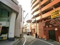 クレベール西新宿 隣の商店街