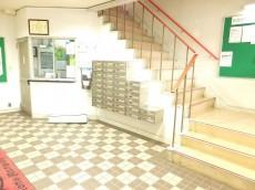 ライオンズマンション駒沢 エントランスホール