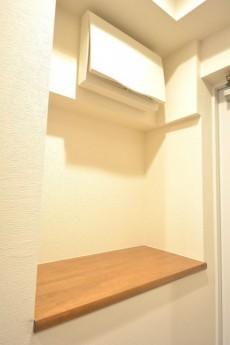 芦花公園ヒミコマンション 玄関右手のカウンター