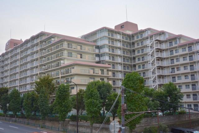 芦花公園スカイハイツ 外観