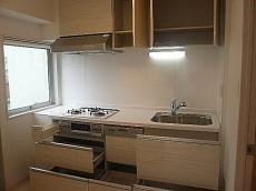 ライオンズマンショングリーン白金 キッチン