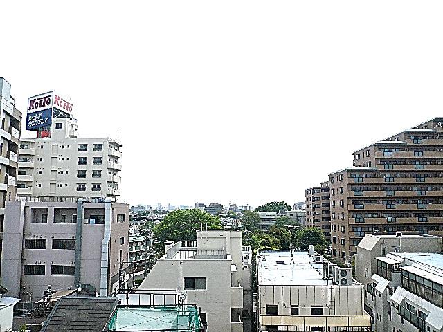ライオンズマンション駒沢 5階からの眺望