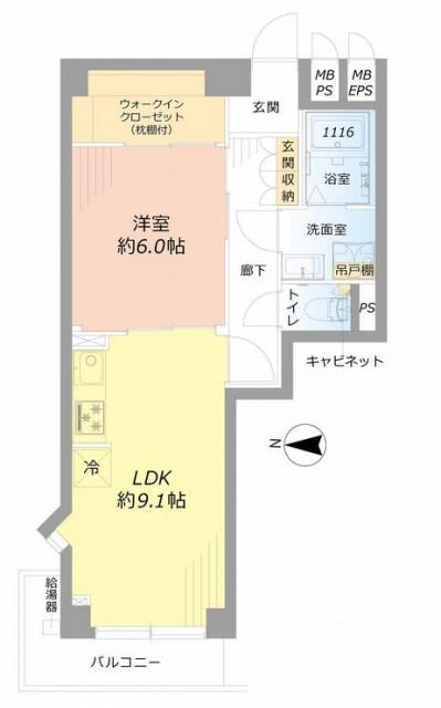 西新宿ハウス 間取り306
