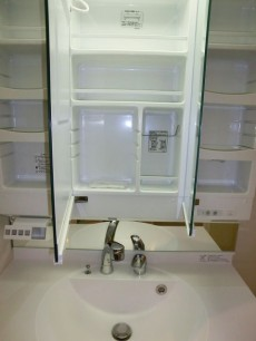 西新宿ハウス 三面鏡裏はキャビネット501