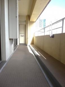 ディナスカーラ新宿 約9.75㎡、東向きバルコニー