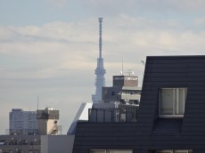 ディナスカーラ新宿 バルコニーからスカイツリーも見えます♪