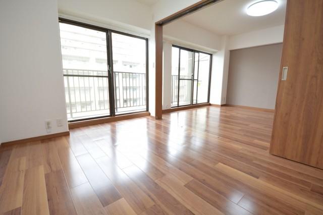 LDK+約6.0畳の洋室をあわせて開放感のある空間♪