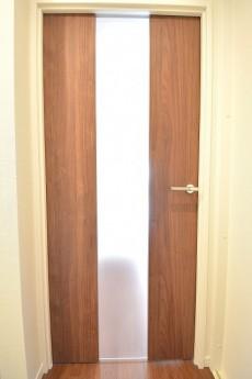 リビング扉