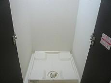弦巻リハイム 白い扉の洗濯機置き場205