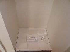 洗濯機置き場です。