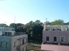 第三宮庭マンション サンルームからの眺望
