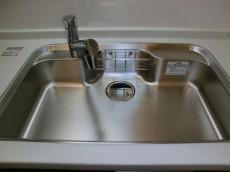 トキワパレス シンクの水栓は浄水器内蔵1109
