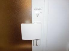 バスルームのドアにはチャイルドロック
