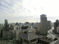 ハイホーム本陣 バルコニーからの眺望