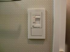 ハイホーム本陣 バスルームの照明は調光器付