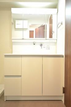 朝日白山マンション 洗面化粧台