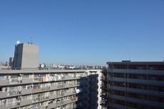 大森パークハイツ 玄関前からの眺望