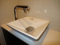 トイレには手洗い場&カウンター