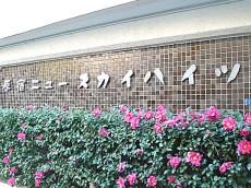 原宿ニュースカイハイツ 館銘板