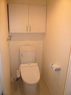 原宿ニュースカイハイツ ウォシュレット付トイレです。