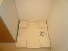 原宿ニュースカイハイツ 洗濯機置き場です。