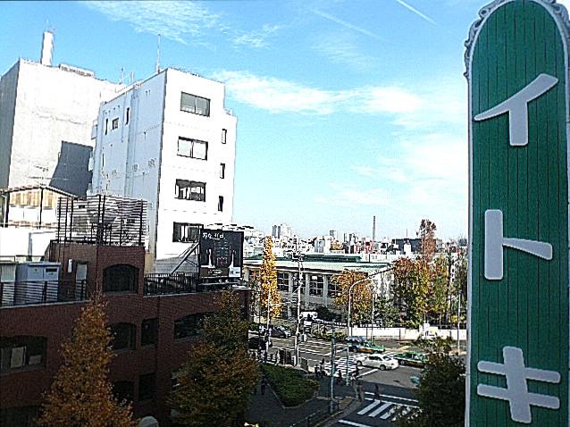 原宿ニュースカイハイツ 5階からの眺望