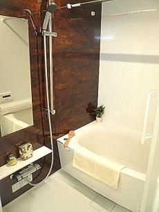 グリーンキャピタル広尾 シックなバスルーム。