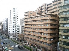 グリーンキャピタル広尾 6階からの眺望です。