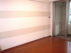 バルコニーに面している洋室 6.0帖です。
