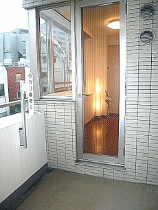 バルコニーです、LDへのドア
