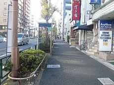 柿の木坂スカイマンション マンションまでの道のり