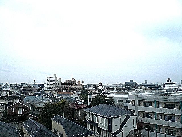 5階からの眺望です。