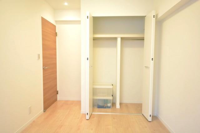 光建ハイムブリリアンス日本橋浜町四番館 約5.4畳の洋室のクローゼット