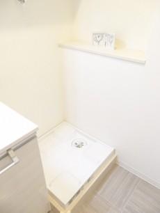 第1恵比寿マンション 洗濯機置場