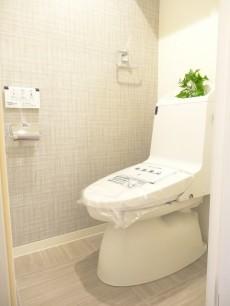第1恵比寿マンション ウォシュレット付きトイレ