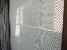 第1恵比寿マンション バルコニーのガラス窓