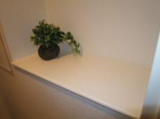 トイレ・壁面のカウンター