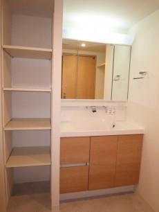 目白ガーデニア 収納たっぷりな洗面室416