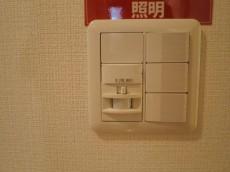 目白ガーデニア 玄関照明は人感センサー付416